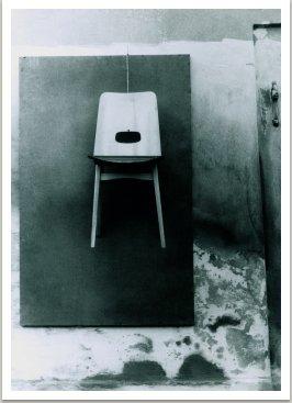 Socha židle, 1964, 160x110x50 cm