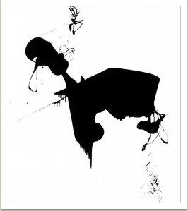 Bez názvu, 1963, email na plátně, 220x200 cm