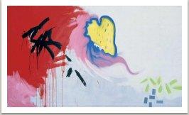 Banality, 1987, disperse a akryl na plátně, 175x300 cm