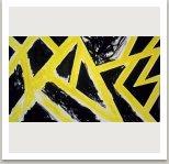 Gargantuovo pončo,1988, disperse a akryl na plátně,175x300 cm