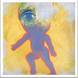 KE-7, 1998, akryl na plátně, 120x120 cm