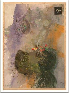 Hledači pokladů, 2001-2002, akryl a umělá hmota na plátně, 200x145 cm