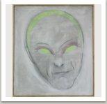 Narťan 2006, akryl a uhel na plátně, 150x130 cm