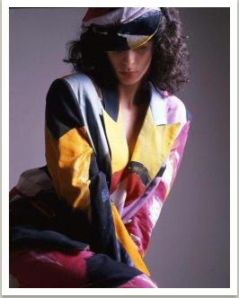 Z kolekce Malovaných oděvů 1986-1988