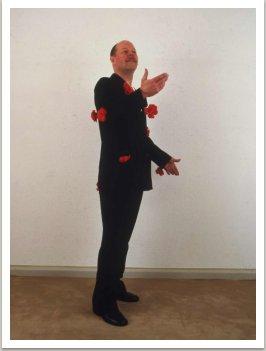 Půl saka s růžemi (z cyklu Jak aktualizovat oděvy), 1965-1970