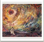 Běsnění slunce, 1957-58, olej na plátně, 97x115 cm