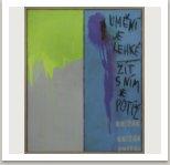 Art is easy, 2006, akryl a uhel na dřevotřísce, 80x100 cm