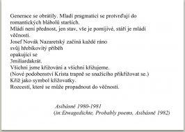Asibásně Etwagedichte Probable poems, německý překlad M. Spielmann  anglický Paul Wilson Copyright M. Knížák, 1982