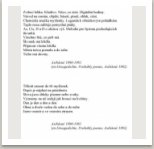Asibsn Etwagedichte Probable poems, 1982 