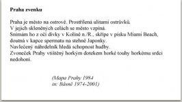 Mapa Prahy, 1984