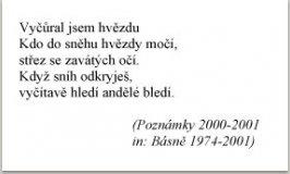 Poznámky, 2000-2001