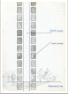 Paternosterové domy, které mění polohu v domluvené časové periodě, 1962-64