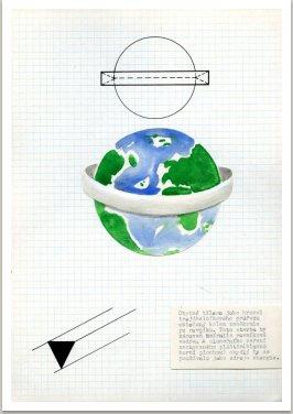 Zeměkoule jako park, 1972-1974 z knihy Sny o architektuře