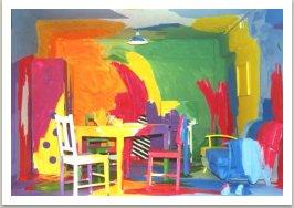 Realizace prostředí pro Bienale, 1989-1990, Sydney, Austrálie