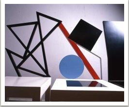 Židle Šifra a Malevič, 1985