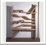 Police, 1983, dřevo, 250x175x30 cm