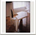 Psací stůl a židle, 1971