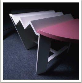 Rodinný stůl, 1983-84, dřevo, barva, 80x160x90 cm