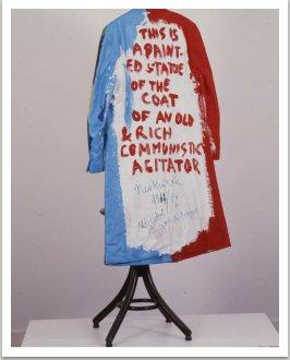 Kabát agitátora, 1989, real size