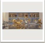 Nový ráj, 1990-1991, laminát, hliník, zrcadla, nitrobarva, dřevo, 500x600x160 cm