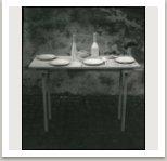 Socha prostřeného stolu, asambláž, 1964