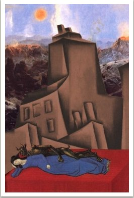 Ďábel a královna, ze série Počítačových obrazů, 1997