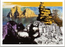 Ze série Krajiny,1990, laserový tisk, 30x42 cm