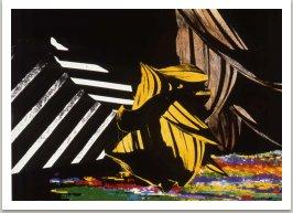 Ze série Krajiny, 1990, laserový tisk, 30x42 cm