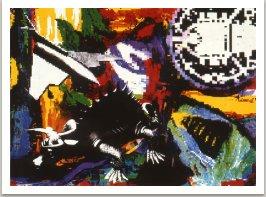Ze série Ilustrací k nové bibli, laserový tisk, 1990, 30x42 cm