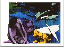 Ze série Ilustrací k Nové bibli, 1990, laserový tisk, 30x42 cm