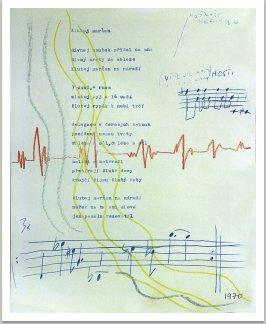 Žlutej marťan, 1970, písně kapely Aktual
