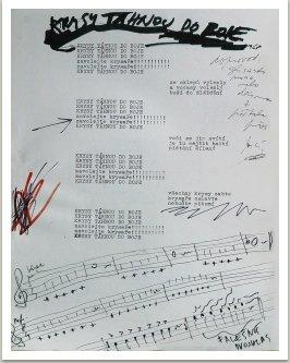 Krysy táhnou do boje, 1968, písně kapely Aktual