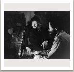 Milan Knížák a Allan Kaprow, 1968, Long Island, N.Y., USA