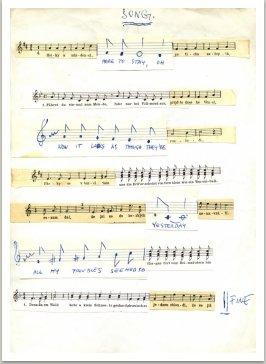 Destruované notace, 1968-1980