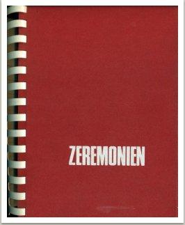 MILAN KNÍŽÁK - ZEREMONIEN Katalog k výstavě, Muzeum am Ostwall v Dortmundu, 1972