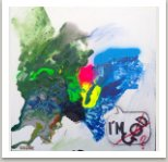 I'm, 2013, akryl na plátně, 80x80 cm