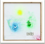 INRI, 2013, akryl na plátně, 80x80 cm