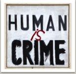 Crime, 2014, akryl na plátně, 80x80 cm