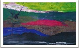 Gulliver, 1992, akryl na plátně, 175x300cm