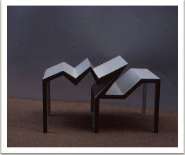 Stůl-nestůl, 1983-1984, 80x160x90 cm
