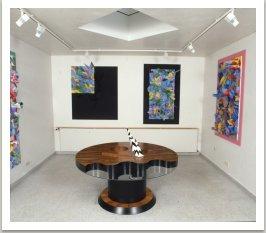 Stůl Desent, 1985, 140x140x140 cm