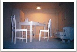 Místnost jako plátno připravené k malbě, 1989-1990, Sydney, Australie