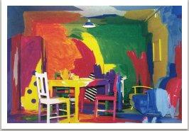 Pomalovaná místnost, 1989-1990, Sydney, Australie