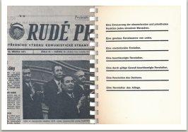Stránka zkomunistických novin Rudé právo, 1971; O revolucích, 1967